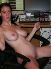 Pix of a HOT TEEN SECRETARY at WORK
