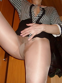 lady in pantyhose