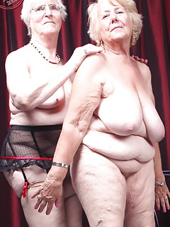 Older mature grannies enjoying life naked