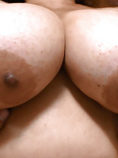 EUROPEMATURE  Cute mature Christina shaking her big boobs