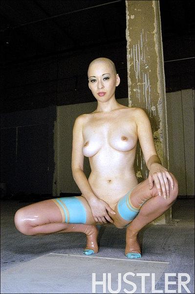 лысая девушка порно фото.