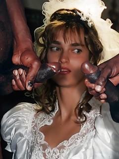 Bride interracial