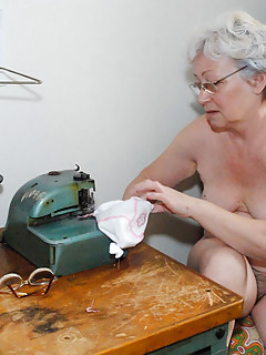 Grandma playing with adult toy