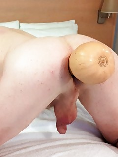 RachelSexyMaid plays with huge Anal Insertions