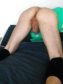Hairy Sissy Slut needs big cock