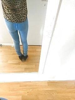 Me in sexy jeans and blouses